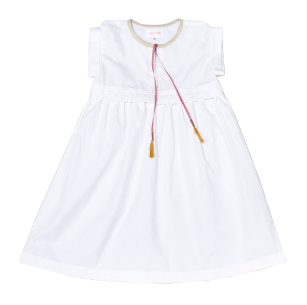 White Empire Dress - Mabel Child