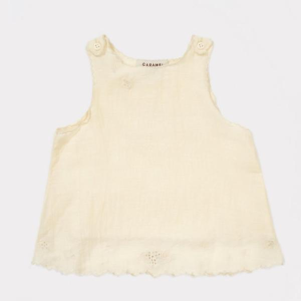 Tuz Baby Top, Pale Yellow - Mabel Child