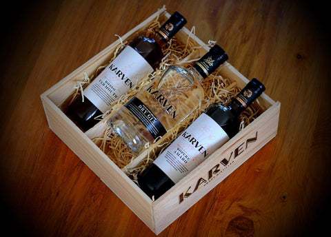 Triple Karven Gift Box (Product not included)