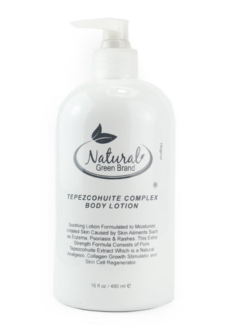 Tepezcohuite Body Lotion with Hyaluronic acid & Vitamin E