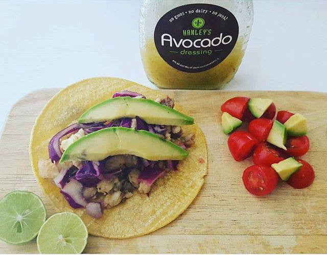 Grilled Fish Avocado Taco