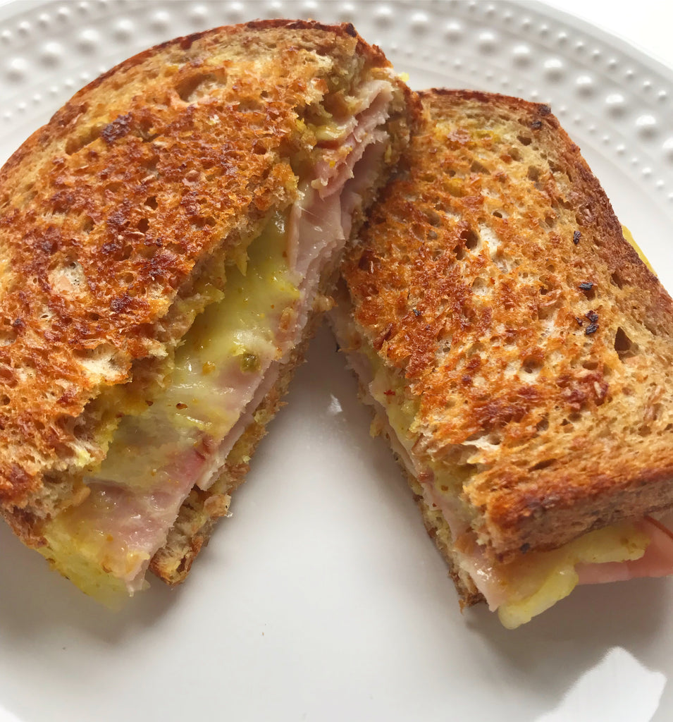 Sweet Creole Grilled Cheese