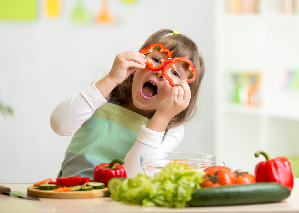 5 Ways to Make your Children Grow Fond of Salads