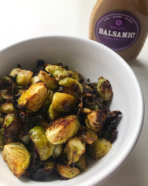 Hanley's balsamic Brussels sprouts