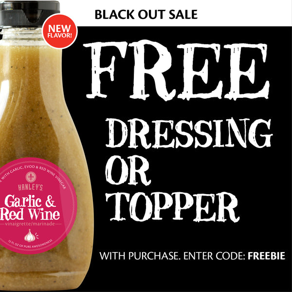 Free dressing or topper