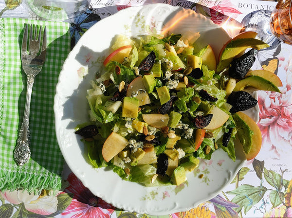 Chopped Avocado Autumn Salad