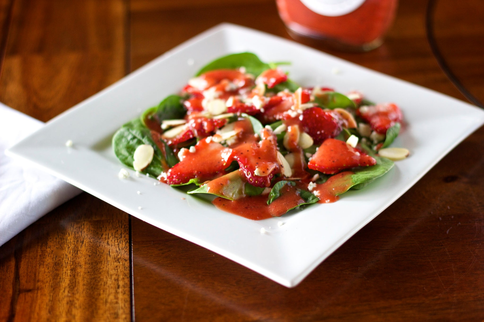 Strawberry vinaigrette, Dressings - Hanley's Foods