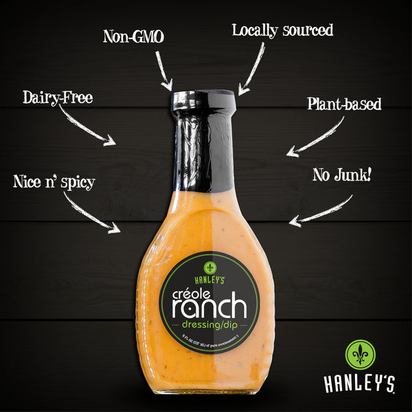 Créole Ranch dressing/dip, Dressings - Hanley's Foods