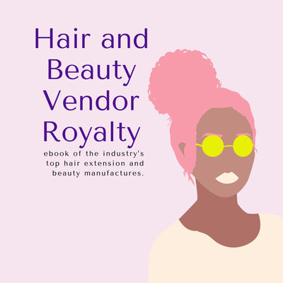 Hair and Beauty Vendor Book