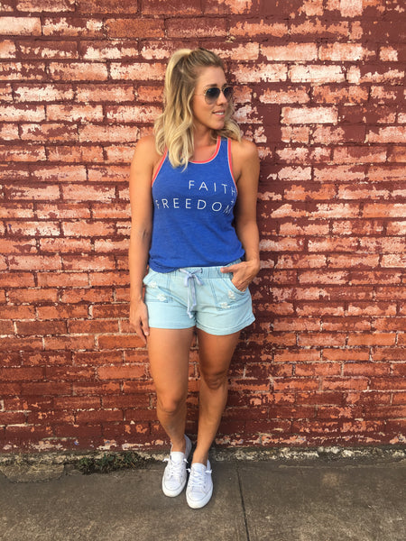 Faith + Freedom Tank