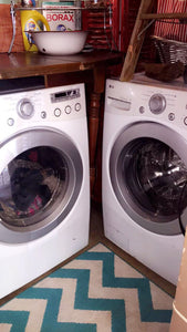 DIY Laundry Room Transformation {and I didn't spend a dime}