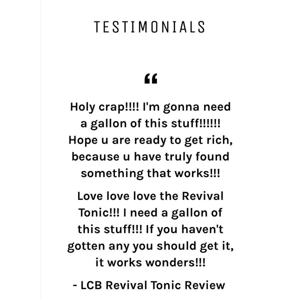 LCB Revival Tonic