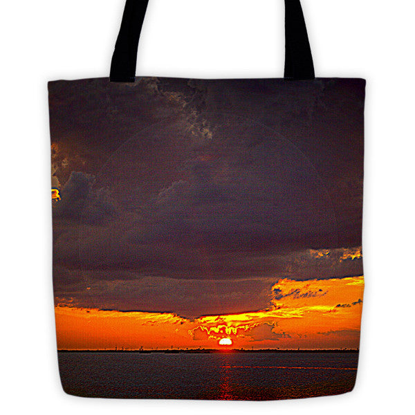 Cancun Sunset Tote bag