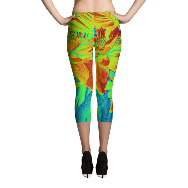 Yello Mello Capri Leggings