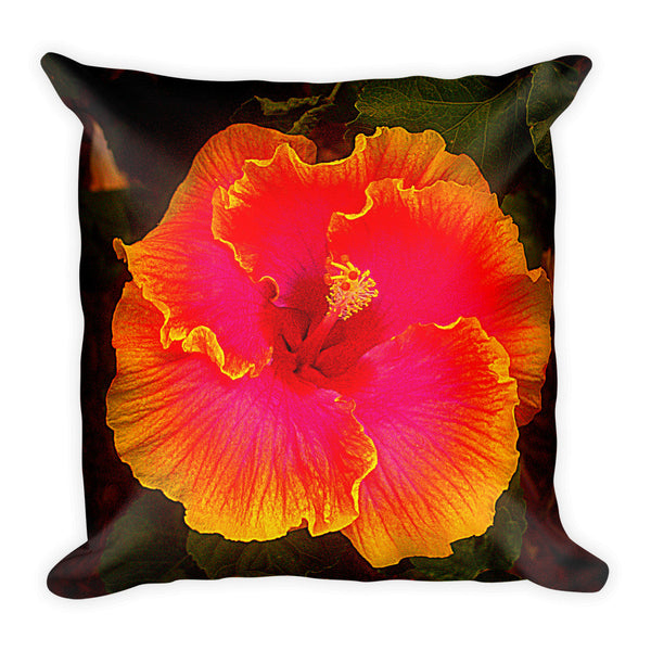 Maui Flower Pillow