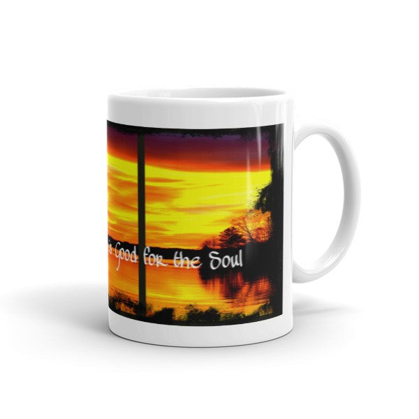 A Day at the Lake Is Good for the Soul Mug