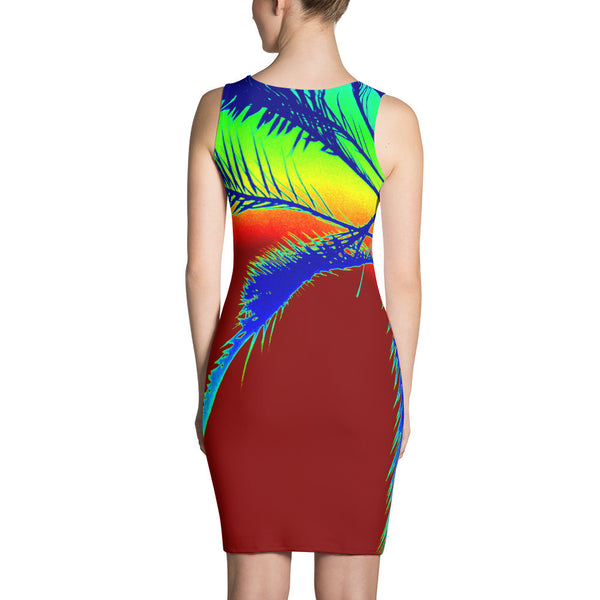 Bright and Sleek Fitted Body Dress