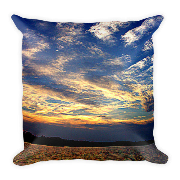 Lake Wylie Sunsets (Riverhills Directory Cover) Pillow