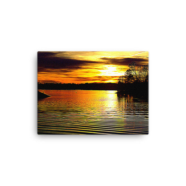 Lake Wylie Sunset Canvas