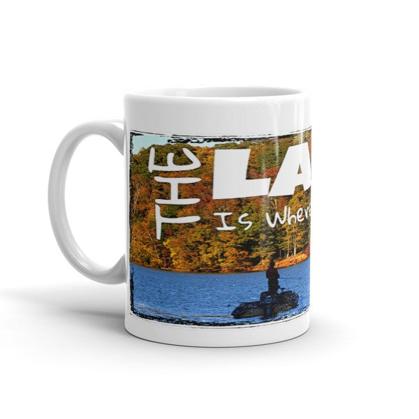The Lake is Where I Belong Mug