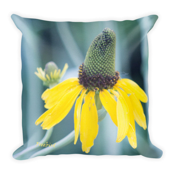 Unusual Colorful Flower Pillow