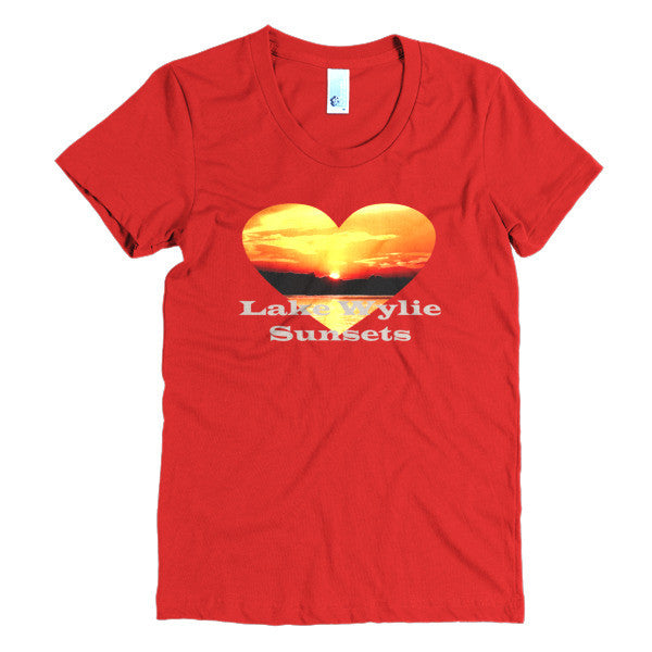 Lake Wylie Sunsets Women's short sleeve t-shirt
