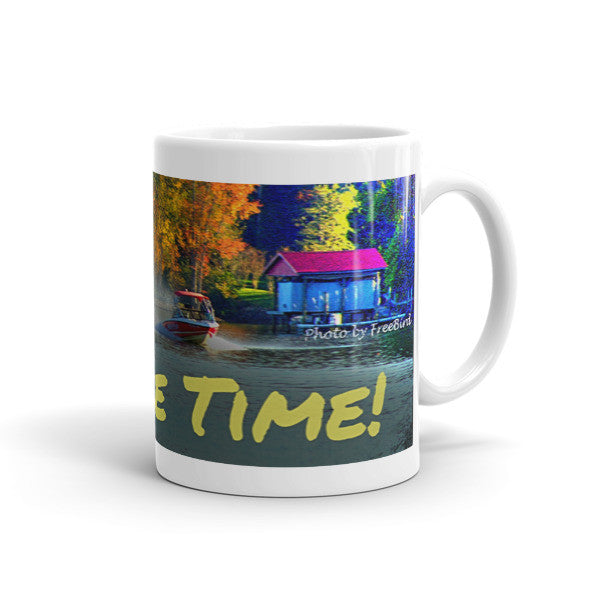 On Lake Time! Mug