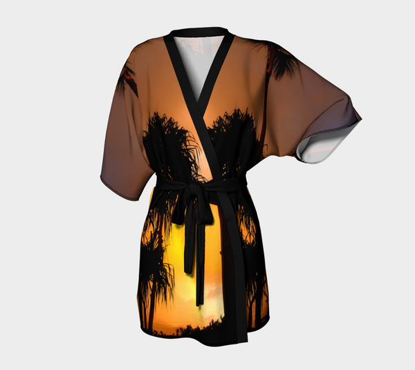 Maui Sunset Kimona Robe