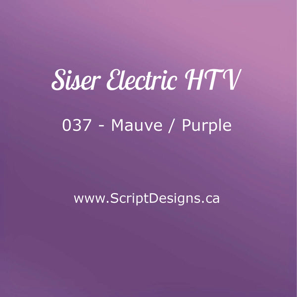 EL 037 Purple - Siser EasyWeed Electric HTV