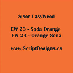 23 Orange Soda - Siser EasyWeed HTV