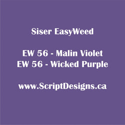 56 Wicked Purple - Siser EasyWeed HTV