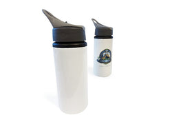 650ml Aluminium Bottle with Straw - Sublimation