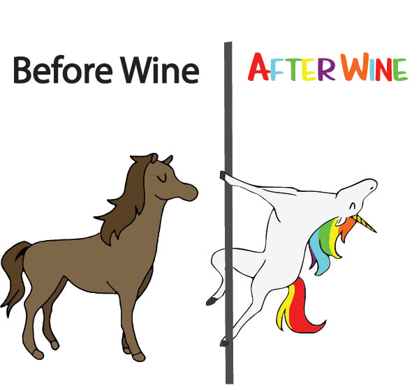 Before Wine / After Wine HTV Decal