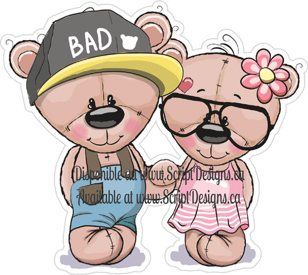 Sweet Critters / Mignons Minois - Beach Bears