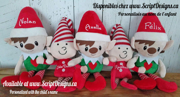 Christmas Elf - Small Size / Personalized