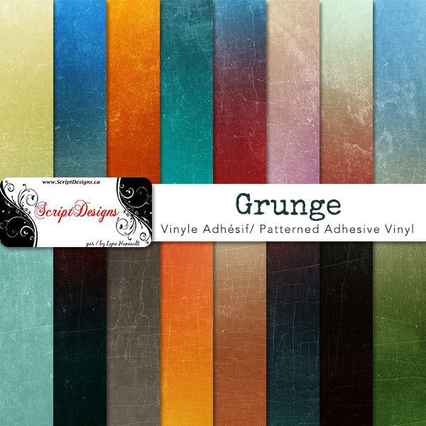 Grunge Backgrounds Patterned Adhesive Vinyl 15