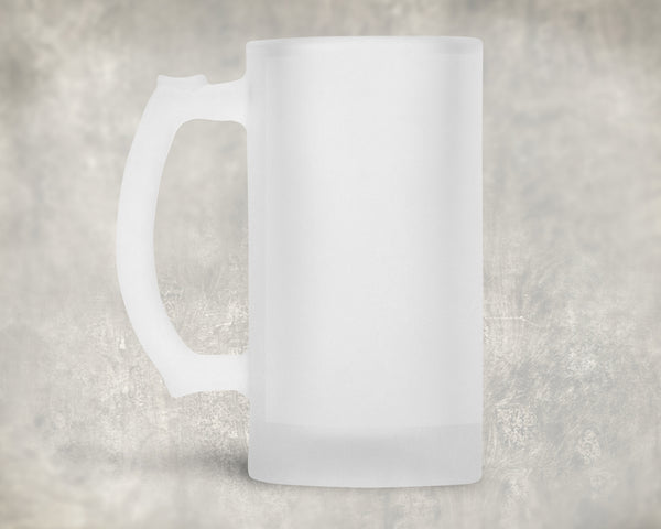 Frosted Beer Steins - 16oz - Sublimation