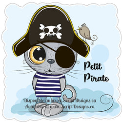 Sweet Critters / Mignons Minois - Petit Pirate