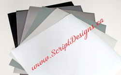 Some Shades of Grey - Oracal 651 Vinyl - ScriptDesigns