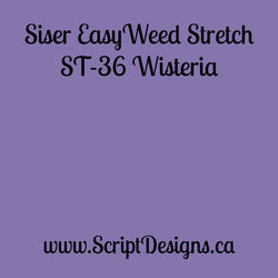 ST36 Wisteria - Siser EasyWeed Stretch HTV