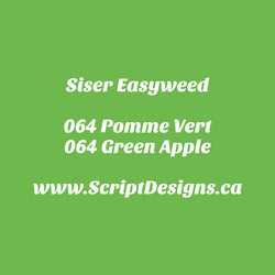 64 Green Apple - Siser EasyWeed HTV