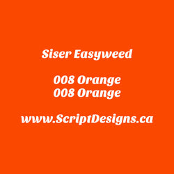 08 Orange - Siser EasyWeed HTV