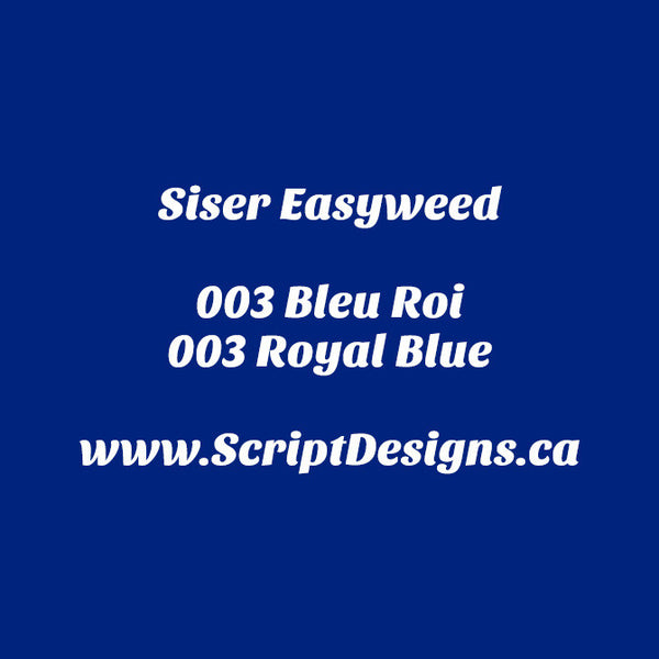03 Royal Blue - Siser EasyWeed HTV