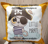 Sweet Critters / Mignons Minois - Little Pirate