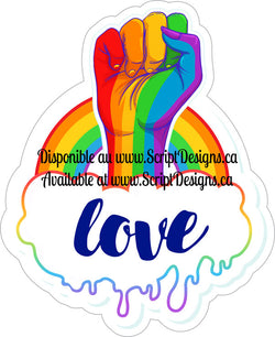 Love Strong - Pride Collection (Adhesive Decal)