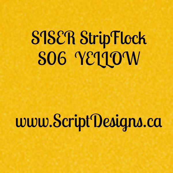 Siser StripFlock - ScriptDesigns - 7