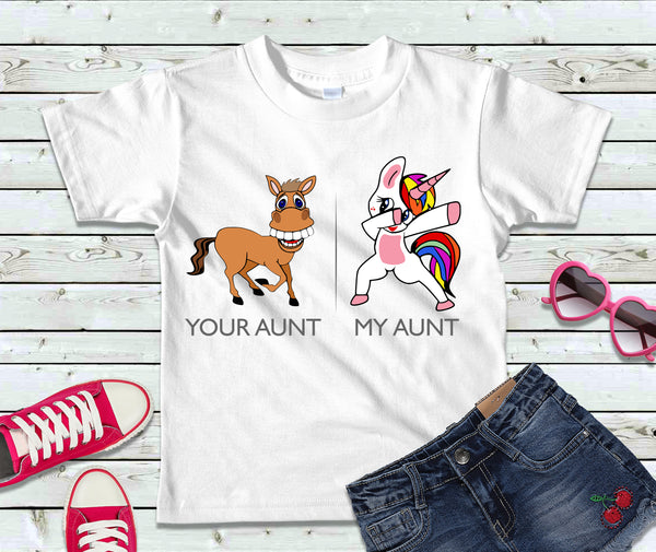 My Aunt / Your Aunt Toddler T-Shirt