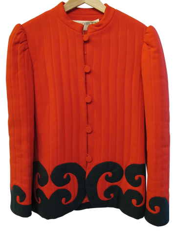 1960's-70's Moroccan Red Coat