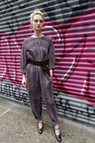 1980's Issey Miyake Plantation Striped Jumpsuit - SOLD