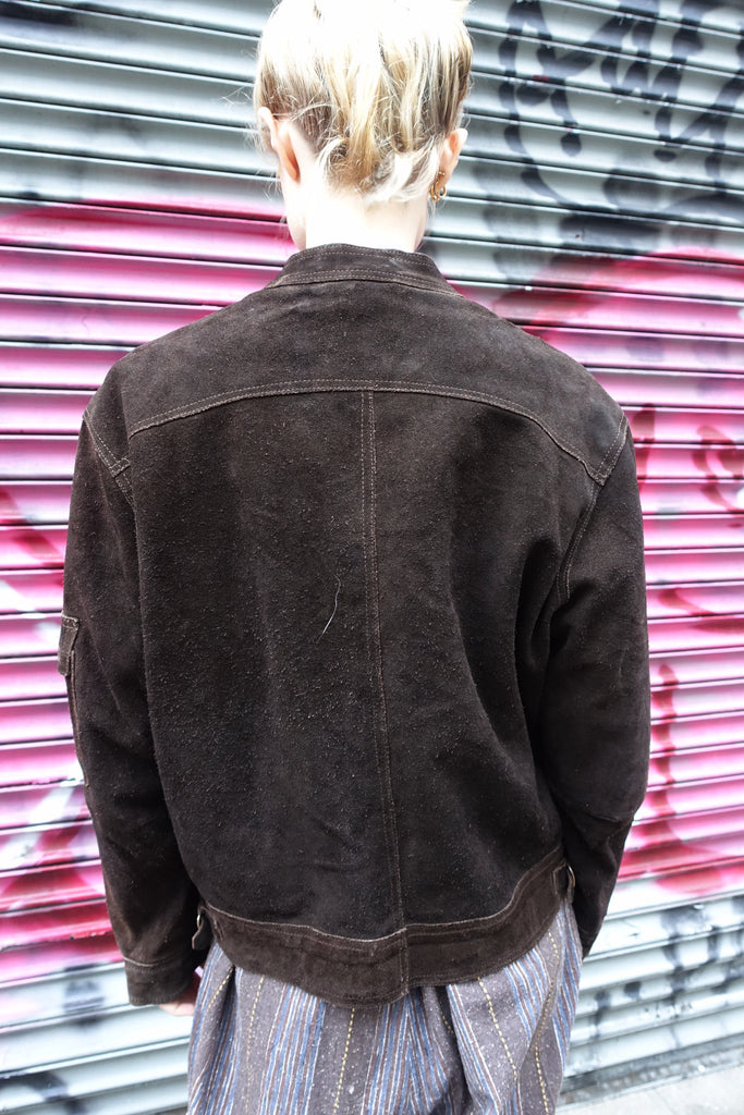 1970's Brown Suede Jacket
